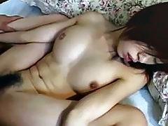 Japanese girl Yui Sarina likes cum on her face
