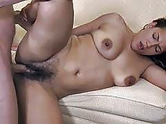 Hot wife takes a huge Dick in her hairy beaver