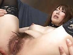 Sexy Sayaka Tsuzi likes riding dick and squirting all over