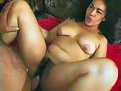 Mature Hairy Latina boned